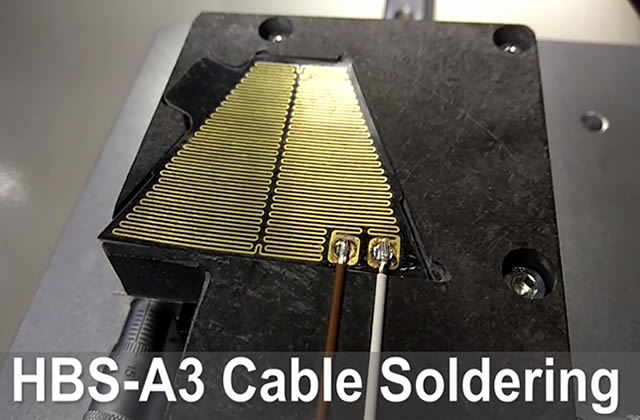 Cable soldering