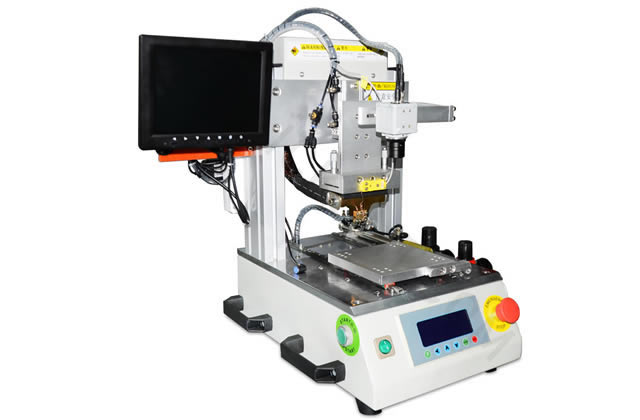Hot Bar Soldering Machine HBS-A4 working